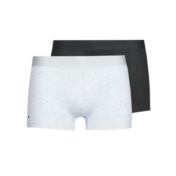 Spodní prádlo  Muži Boxerky Lacoste 5H3378-SNP Černá / Šedá / Sepraný
