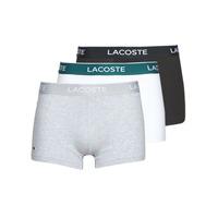Spodní prádlo  Muži Boxerky Lacoste 5H3389-NUA Černá / Bílá / Šedá