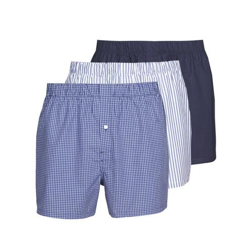 Spodní prádlo  Muži Trenýrky Lacoste 7H3394-8X0 Bílá / Modrá