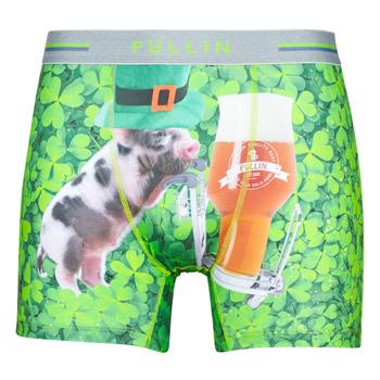 Spodní prádlo  Muži Boxerky Pullin FASHION LYCRA Zelená