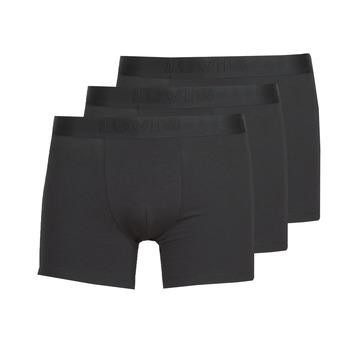 Spodní prádlo  Muži Boxerky Levi's PRENIUM BRIEF PACK X3 Černá