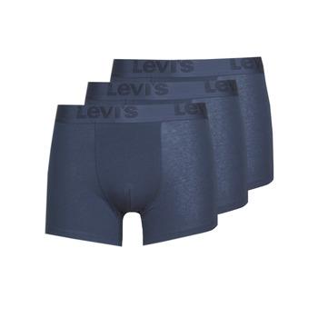 Spodní prádlo  Muži Boxerky Levi's PRENIUM BRIEF PACK X3 Tmavě modrá