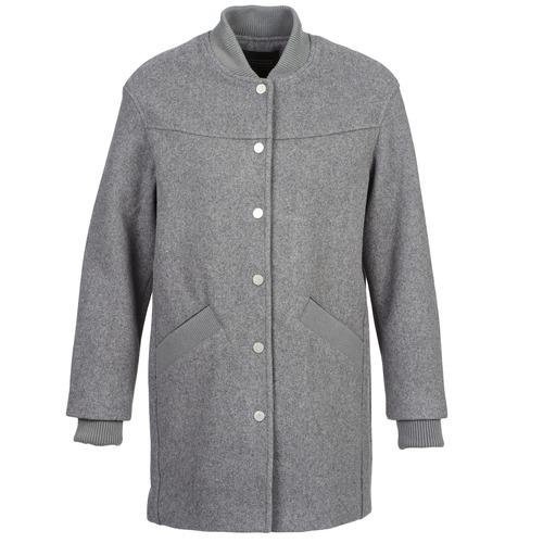 Textil Ženy Kabáty Eleven Paris PARC Šedá