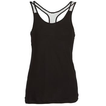 Textil Ženy Tílka / Trička bez rukávů  Religion DELICATE Černá