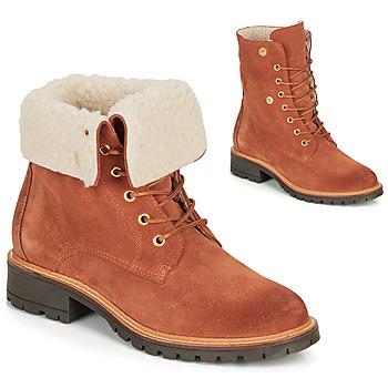 Boty Ženy Kotníkové boty André BALADE Oranžová