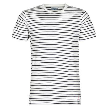 Textil Muži Trička s krátkým rukávem Yurban KINO Tmavě modrá / Bílá
