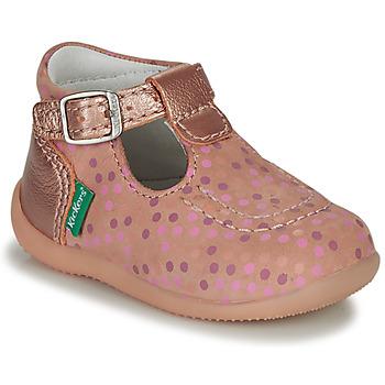 Boty Dívčí Sandály Kickers BONBEK-3 Růžová