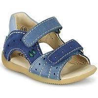 Boty Chlapecké Sandály Kickers BOPING-3 Modrá
