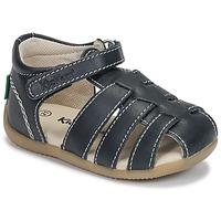 Boty Chlapecké Sandály Kickers BIGFLO-3 Tmavě modrá