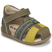 Boty Děti Sandály Kickers BIGBAZAR-3 Zelená
