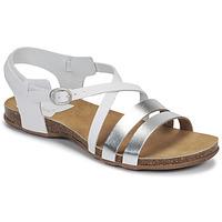 Boty Ženy Sandály Kickers ANATOMIUM Bílá / Stříbřitá