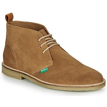 Boty Muži Kotníkové boty Kickers TYL Béžová