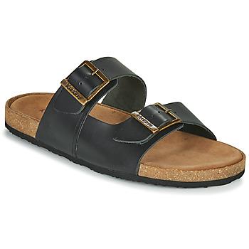 Boty Muži Sandály Kickers ORANO Černá