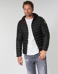 Textil Muži Prošívané bundy JOTT NICO Černá