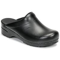 Boty Muži Pantofle Sanita KARL OPEN Černá