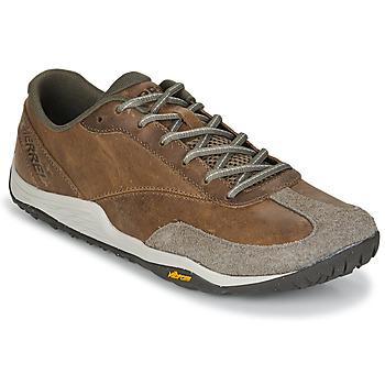 Boty Muži Multifunkční sportovní obuv Merrell TRAIL GLOVE 5 LTR Hnědá