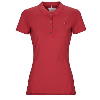 Textil Ženy Polo s krátkými rukávy Tommy Hilfiger NEW CHIARA Červená