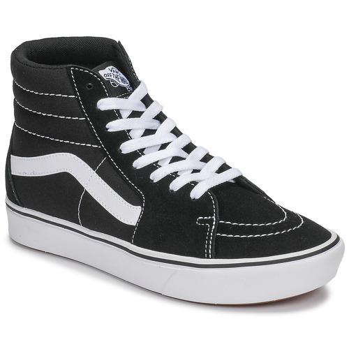Boty Kotníkové tenisky Vans COMFYCUSH SK8-HI Černá / Bílá