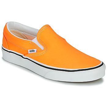 Boty Ženy Street boty Vans CLASSIC SLIP-ON NEON Oranžová