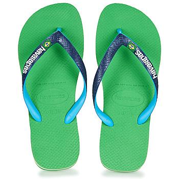 Boty Žabky Havaianas BRASIL MIX Zelená / Modrá