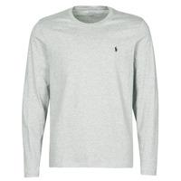 Textil Muži Trička s krátkým rukávem Polo Ralph Lauren L/S CREW-CREW-SLEEP TOP Šedá