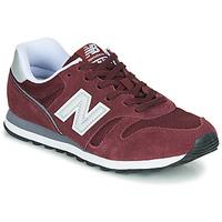 Boty Nízké tenisky New Balance 373 Vínově červená