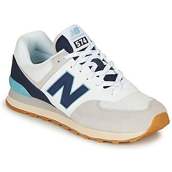 Boty Muži Nízké tenisky New Balance 574 Šedá / Námořnická modř