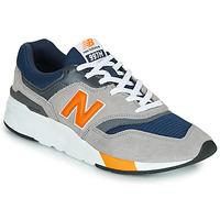 Boty Muži Nízké tenisky New Balance CM997HEX Námořnická modř / Šedá / Oranžová