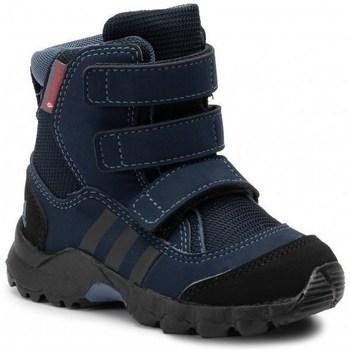 Boty Děti Zimní boty adidas Originals CW Holtanna Snow CF Černé,Tmavomodré