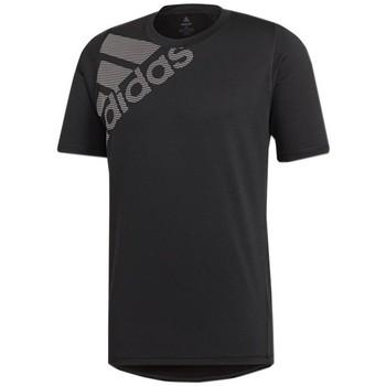 Textil Muži Trička s krátkým rukávem adidas Originals Freelift Badge OF Sport Graphic Černá