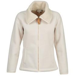 Textil Ženy Fleecové bundy Aigle IDESIA Krémová