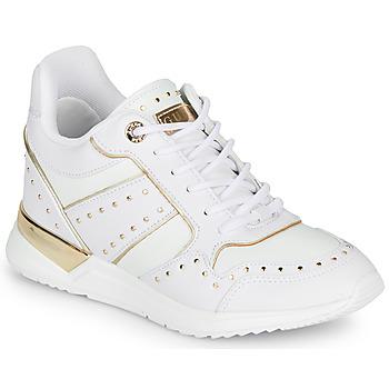 Boty Ženy Nízké tenisky Guess FL5REJ-ELE12-WHITE Bílá