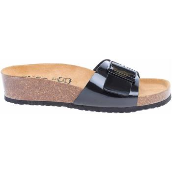 Boty Ženy pantofle Bio Life Dámské pantofle  1712.130 black Lotta 352 Černá