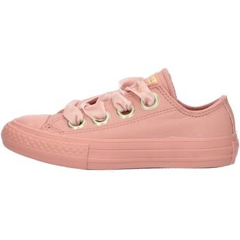 Boty Dívčí Nízké tenisky Converse 661878 Růžová