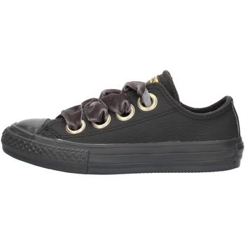 Boty Dívčí Nízké tenisky Converse 661878 Černá