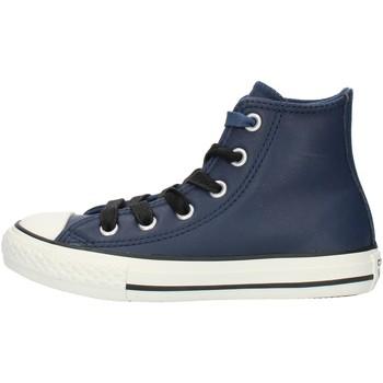 Boty Chlapecké Kotníkové tenisky Converse 662809C Modrá