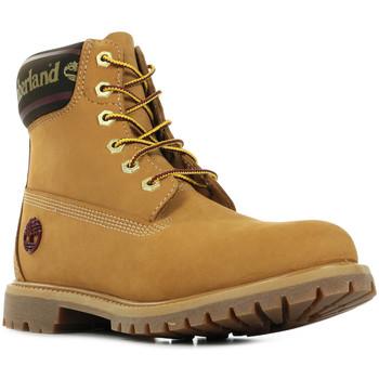 Boty Ženy Kotníkové boty Timberland 6in Logo Collar Boot Hnědá