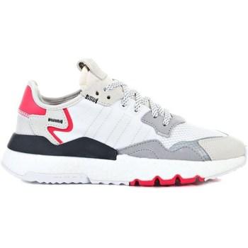 Boty Děti Nízké tenisky adidas Originals Nite Jogger J Bílé