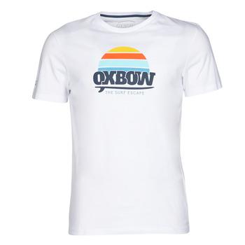 Textil Muži Trička s krátkým rukávem Oxbow M1TEKSO Bílá