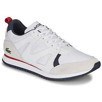Boty Muži Nízké tenisky Lacoste AESTHET 120 2 SMA Bílá / Modrá / Červená