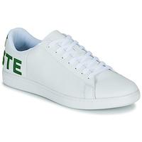 Boty Muži Nízké tenisky Lacoste CARNABY EVO 120 7 US SMA Bílá / Zelená