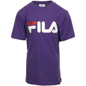 Textil Dívčí Trička s krátkým rukávem Fila Kids Classic Logo Tee