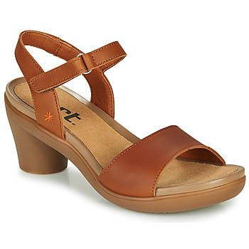 Boty Ženy Sandály Art ALFAMA Hnědá
