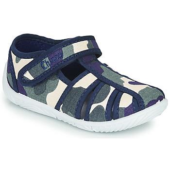 Boty Chlapecké Papuče Chicco TULLIO Modrá / Bílá