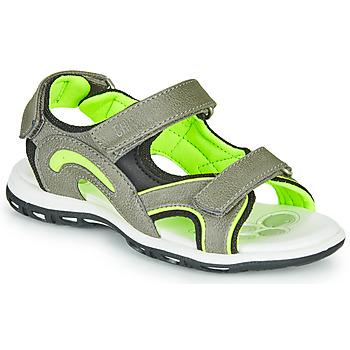 Boty Chlapecké Sportovní sandály Chicco CEDDER Šedá / Zelená