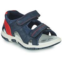 Boty Chlapecké Sandály Chicco FLORIAN Tmavě modrá / Červená