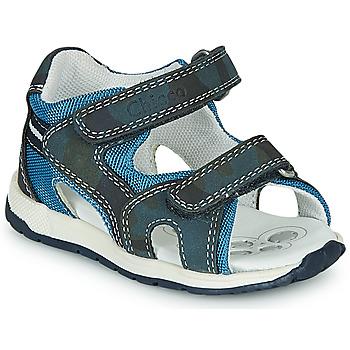 Boty Chlapecké Sportovní sandály Chicco GEREMIA Modrá