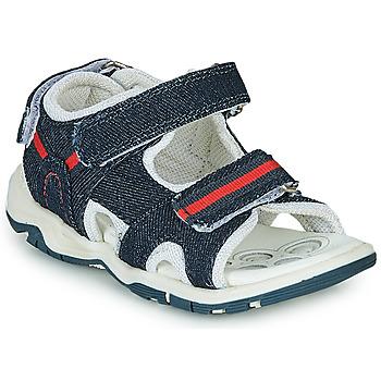 Boty Chlapecké Sportovní sandály Chicco COLBY Modrá / Červená