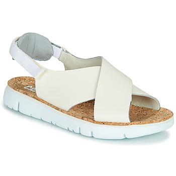 Boty Ženy Sandály Camper Oruga Sandal Béžová