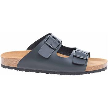 Boty Muži Dřeváky Bio Life Pánské pantofle  0014.649 black Bilbao 178 Černá